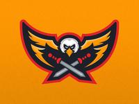 Legatus Legionis - Eagle Mascot Logo Design