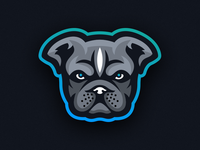 Bully Mascot Logo - Animal Focused