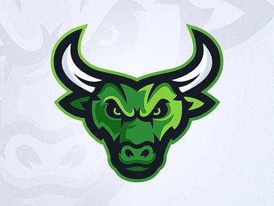 Bull / Taurus - Mascot Logo Design horns angry rodeo sports identity gaming esports design logo mascot taurus bull
