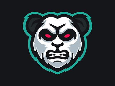 Etma - Panda Mascot Logo Design graphic icon identity illustration sport branding design video game sports bear gaming esports angry logo mascot panda