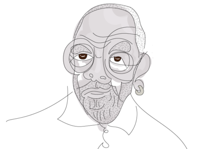 Tom  Burrell -- Quick and Loose Sketch