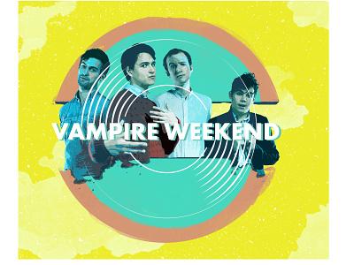 Vampire Weekend Fan Art-2 fan art album cover art vampire weekend alternative band graphic design