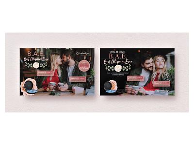 Invisalign - B.A.E - Best Aligners Ever bae love valentines dental invisalign email campaign social campaign graphic design