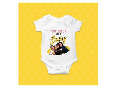 Seinfeld Onesie baby onesie seinfeld graphic design