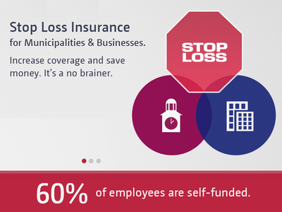 Stop Loss stop sign insurance infographic stats custom icons