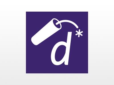 digaboom social icon dynamite spark asterisk