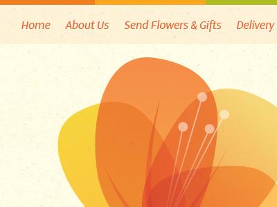 Bella Fleur flower recycled paper texture