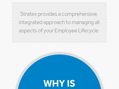 The start of an infographic circle blue gray dashed line border in css