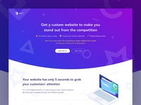 Digital and CRO Agency -  Landing Page