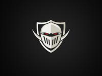 Evil knight logo