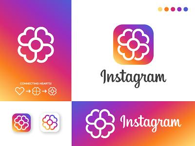 Instagram Logo Redesign Concept icon design minimalist logo brand identity design icon logodesign branding instagram redesign redesign instagram logo logo instagram