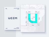 UGEM Logo Construction