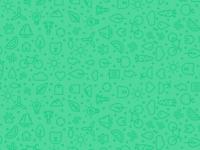Sustainability icon pattern