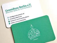 GreenBuzz Berlin business card