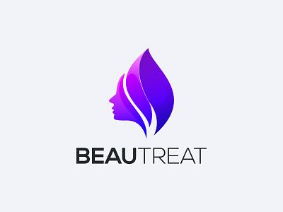beautreat illustration design branding vector logo graphic design gradient colorful 3d