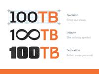 100tb Logo Concepts