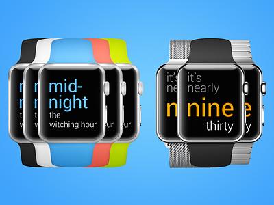 Apple Watch AboutTime 02 apple watch app
