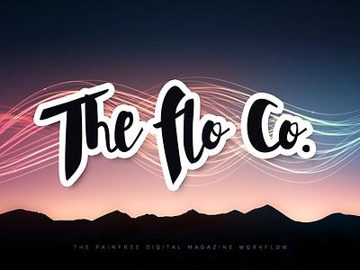 The Flo Co. logo logo