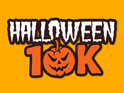 Halloween 10K id brand logo