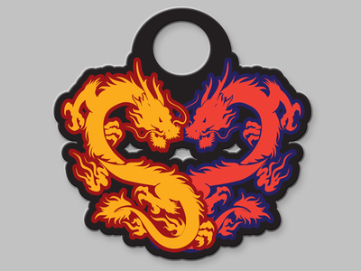 Double Dragon Marathon Medal