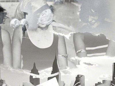 BrooklynRose photo manipulation found photograph collage photocollage photo collage