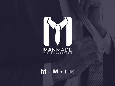 ManMade logo (for sale) logomonogram creativedesign creativeidea graphicdesign visualidentity minimalist awesomelogo branding logo