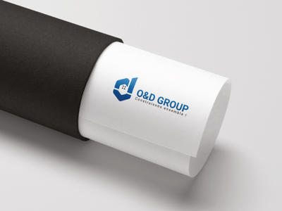 O&D Group logo design logomonogram creativedesign creativeidea graphicdesign visualidentity minimalist awesomelogo branding logo