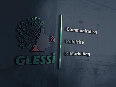 Glessi logo creativedesign creativeidea graphicdesign visualidentity minimalist awesomelogo branding logo