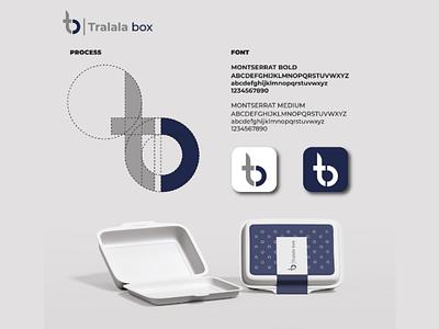 Tralala box visual identity logomonogram creativedesign creativeidea graphicdesign visualidentity minimalist awesomelogo branding logo