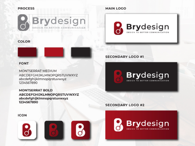 Brydesign visual identity logomonogram creativedesign creativeidea graphicdesign visualidentity minimalist awesomelogo branding logo