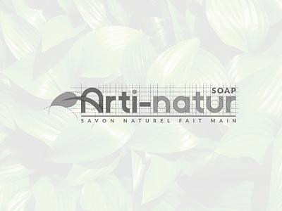 Arti-natur Soap logo process creativedesign creativeidea graphicdesign visualidentity minimalist awesomelogo branding logo