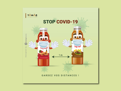 Social media poster covid-19 coronavirus graphic design poster affiche brochure flyer