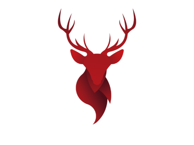 Deer head logo deer nature amazing awesomelogo graphic design logo