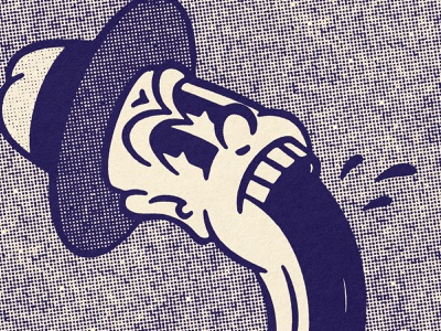 🤯 Distortions pt.6 1950s 50s 1940s 40s comic texture design distressed vintage illustration retro