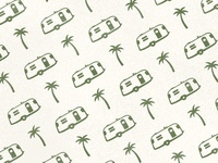 Vintage Airstream Pattern