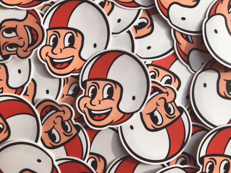 New Stickers indy 500 sticker design stickermule sticker mule sticker driver race racer racing retro illustration vintage