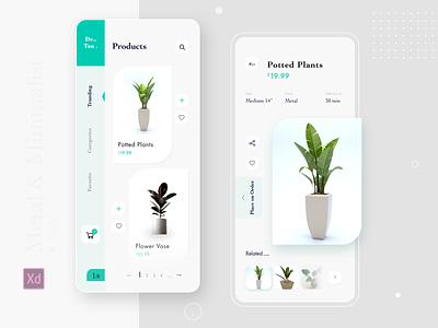 plantsHUNT product trend plant e-commerce minimal