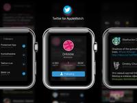 Twitter AppleWatch [Profile, Tweets, Followers]
