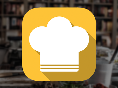 Cook time iOS icon icon ios ui ux mobile apple kitchen cook app iphone