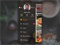 CookTime - Sidebar