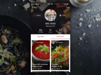 Profile - CookTime App