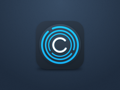 iOS app icon for crypt service engine crypt payment pay map coin ios icon finance service app