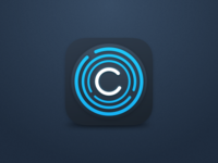iOS app icon for crypt service