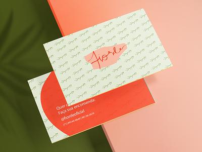 Fiorde | Cartão de Visita branding logo design