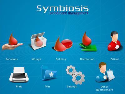 Symbiosis Icons icons