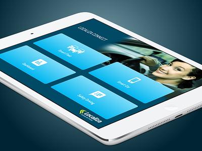 Localiza Fleet Tablet web app app localiza fleet control