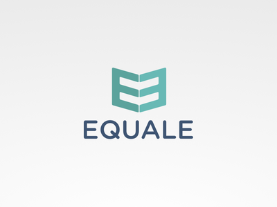 Equale Logo equal brand logo book