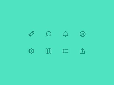 Secret Icons family icons app tab bar icons glyph icons