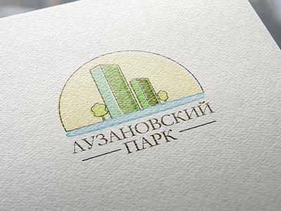 """Logo for apartment complex """"Luzanovskiy Park"""""""