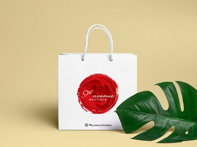 """Branding for clothing store """"9th avenue boutique"""""""